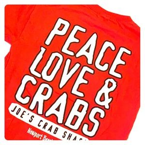 Delta Pro Weight Peace, Love & Crabs T-shirt